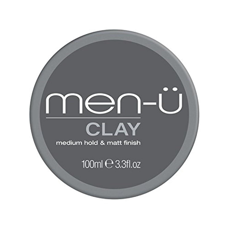 男性-粘土(100ミリリットル) x2 - Men-? Clay (100ml) (Pack of 2) [並行輸入品]