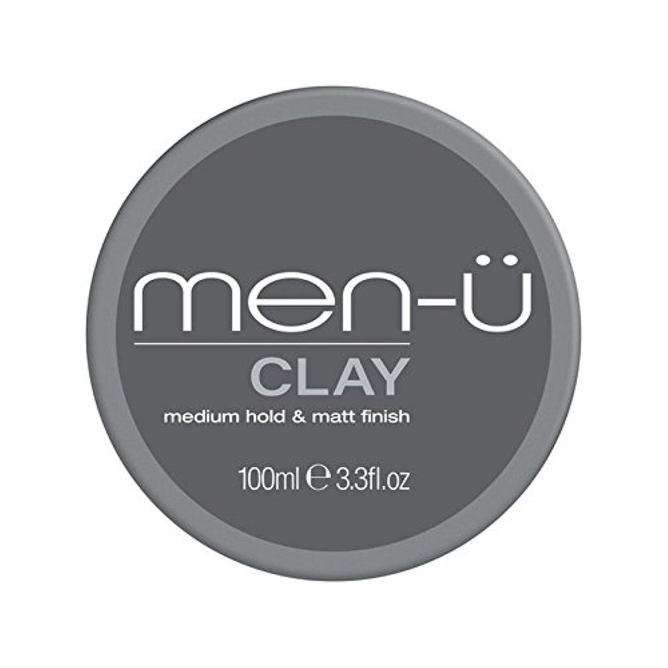 乳素晴らしい良い多くの視線男性-粘土(100ミリリットル) x2 - Men-? Clay (100ml) (Pack of 2) [並行輸入品]