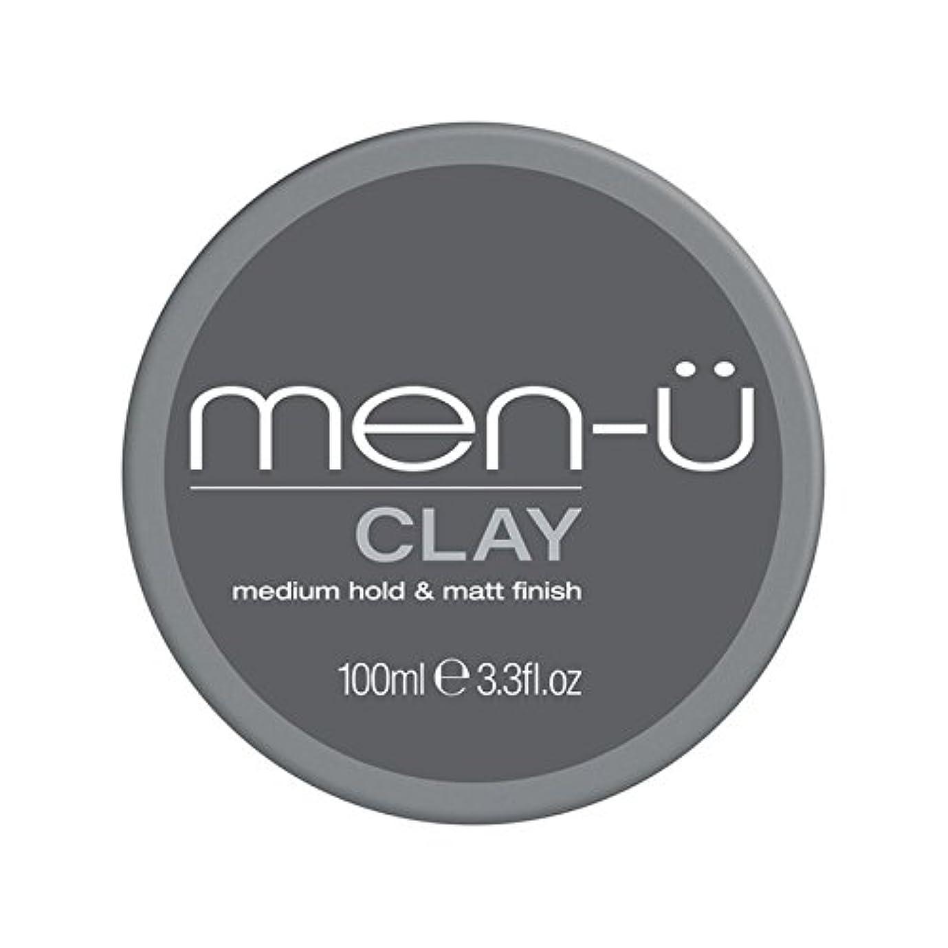 一貫した口頭下品Men-? Clay (100ml) - 男性-粘土(100ミリリットル) [並行輸入品]