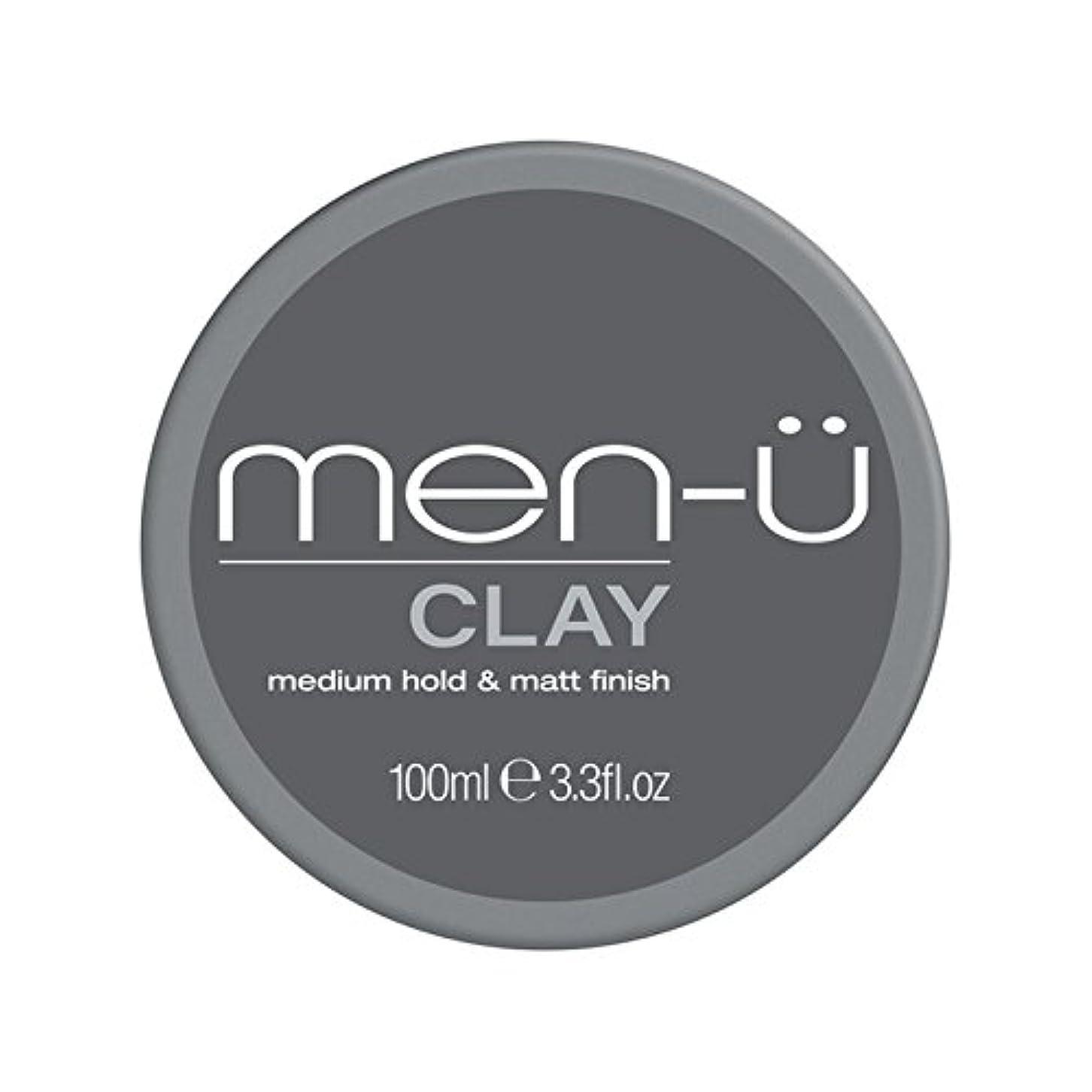 争い可塑性委員長Men-? Clay (100ml) (Pack of 6) - 男性-粘土(100ミリリットル) x6 [並行輸入品]