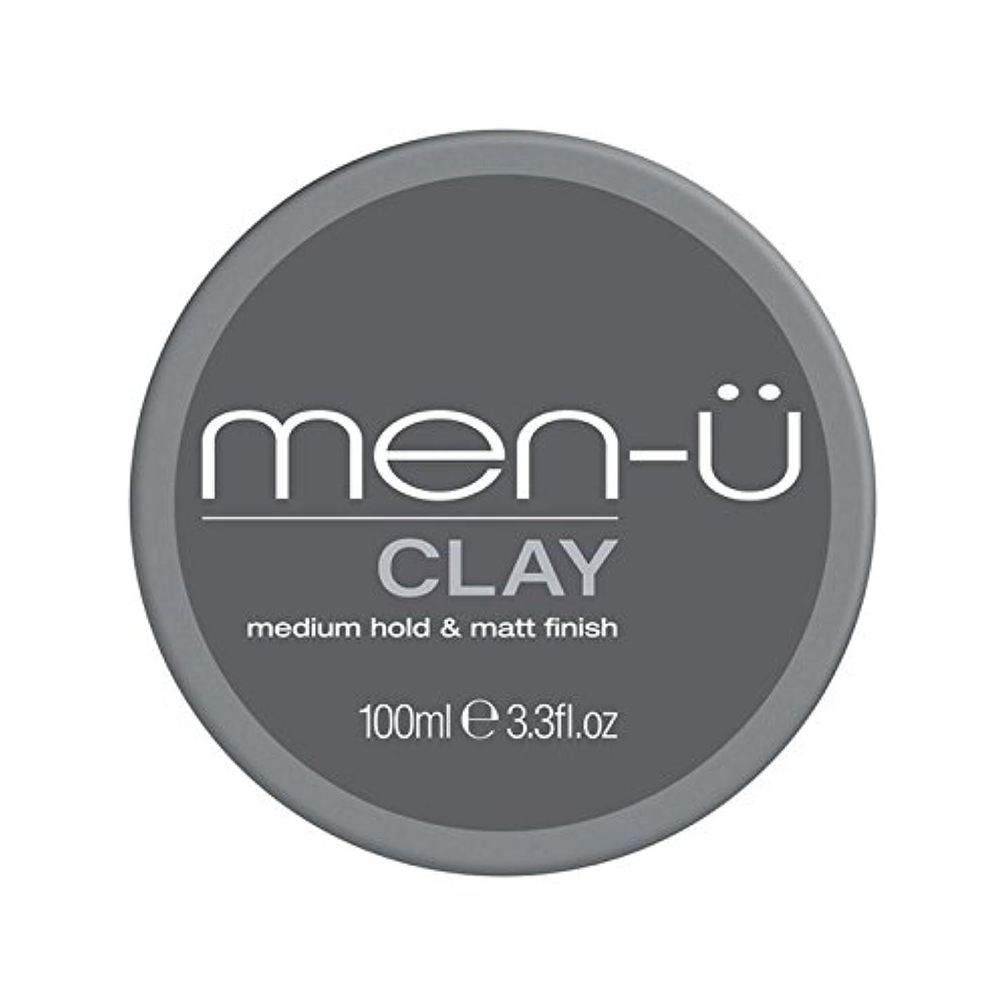 スポーツ調整種をまくMen-? Clay (100ml) - 男性-粘土(100ミリリットル) [並行輸入品]