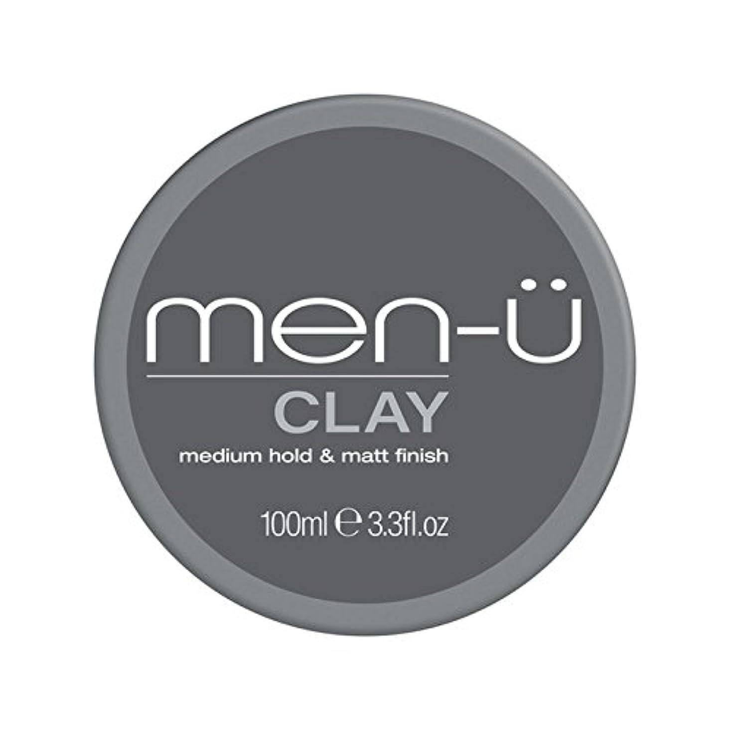 メトロポリタンなんとなく多用途男性-粘土(100ミリリットル) x2 - Men-? Clay (100ml) (Pack of 2) [並行輸入品]