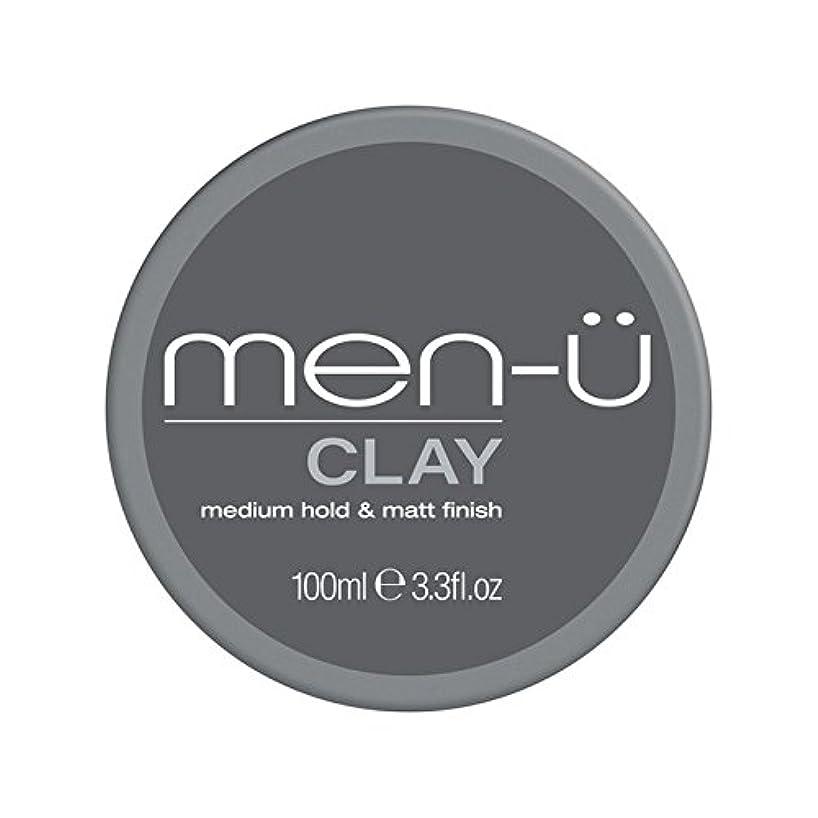 小数実施する店員男性-粘土(100ミリリットル) x4 - Men-? Clay (100ml) (Pack of 4) [並行輸入品]