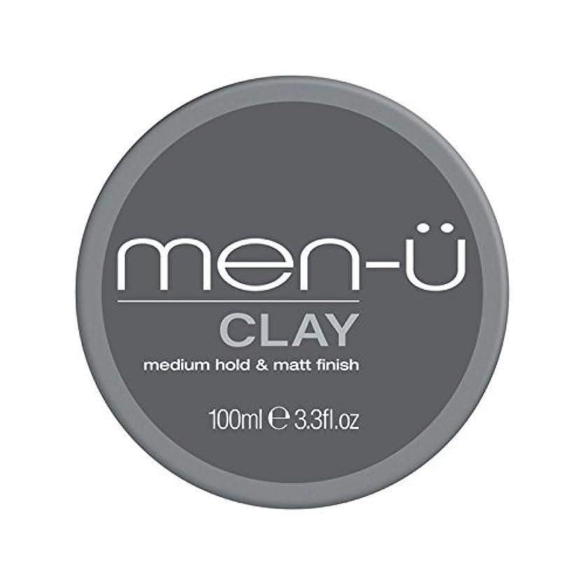 抵抗力があるプーノ住む男性-粘土(100ミリリットル) x4 - Men-? Clay (100ml) (Pack of 4) [並行輸入品]