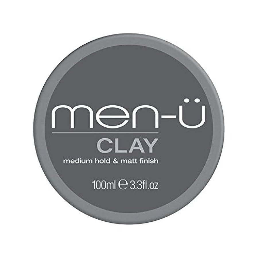 幾何学腐敗言うまでもなく男性-粘土(100ミリリットル) x2 - Men-? Clay (100ml) (Pack of 2) [並行輸入品]