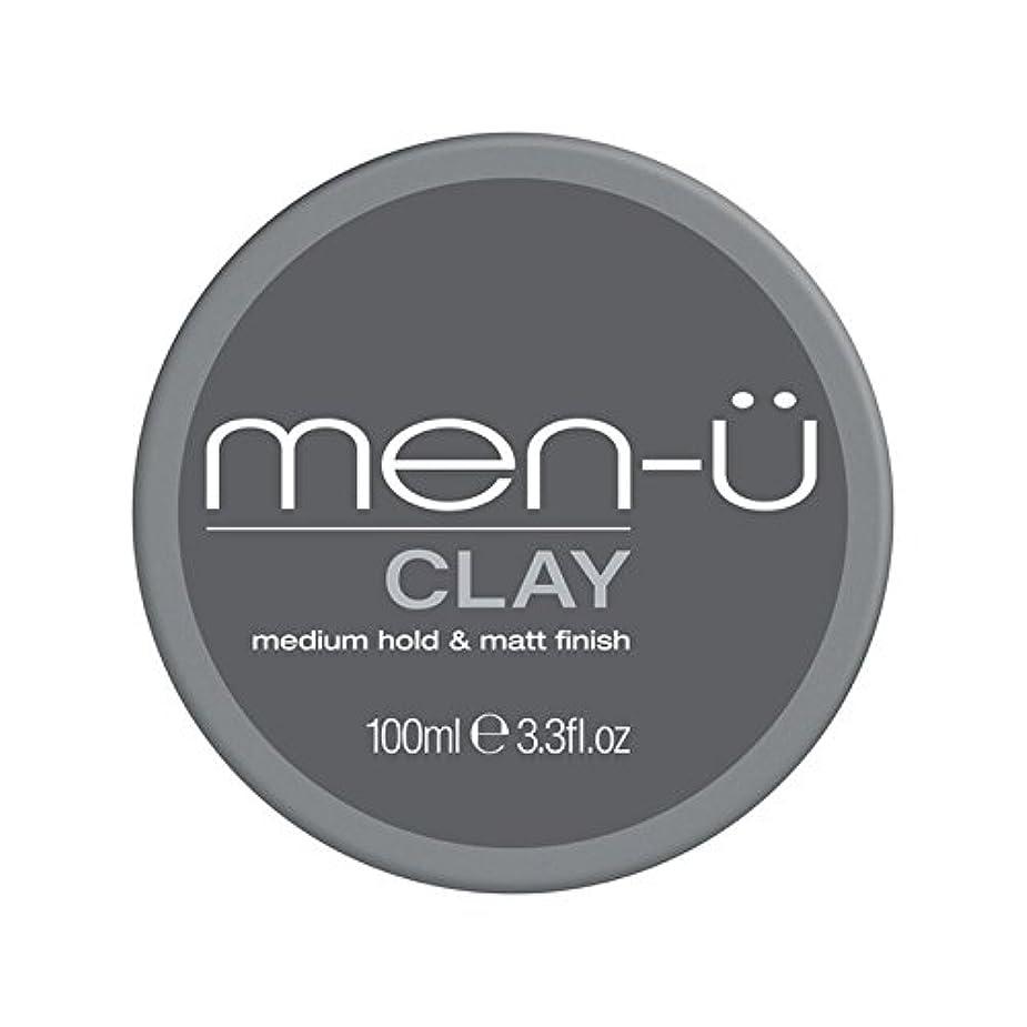 後ろ、背後、背面(部陪審食い違いMen-? Clay (100ml) (Pack of 6) - 男性-粘土(100ミリリットル) x6 [並行輸入品]
