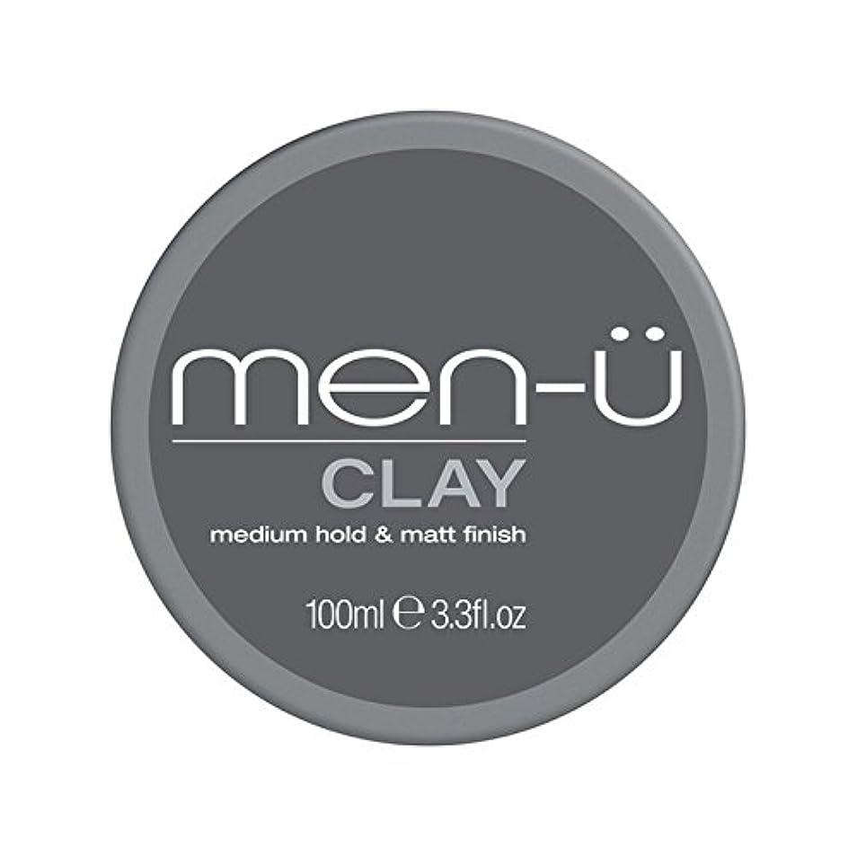 サルベージボーダー終了する男性-粘土(100ミリリットル) x4 - Men-? Clay (100ml) (Pack of 4) [並行輸入品]
