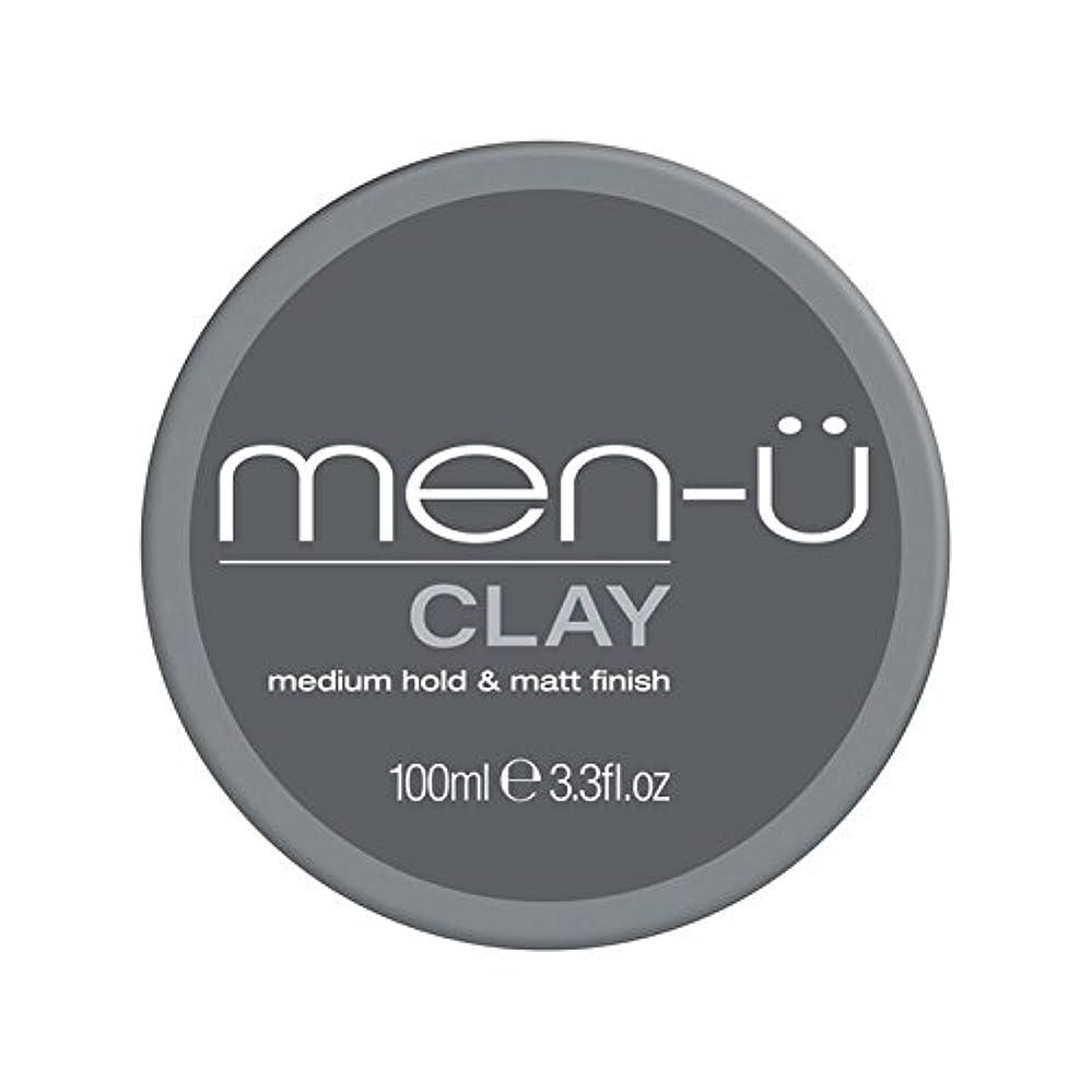 いう蒸発する印をつける男性-粘土(100ミリリットル) x4 - Men-? Clay (100ml) (Pack of 4) [並行輸入品]