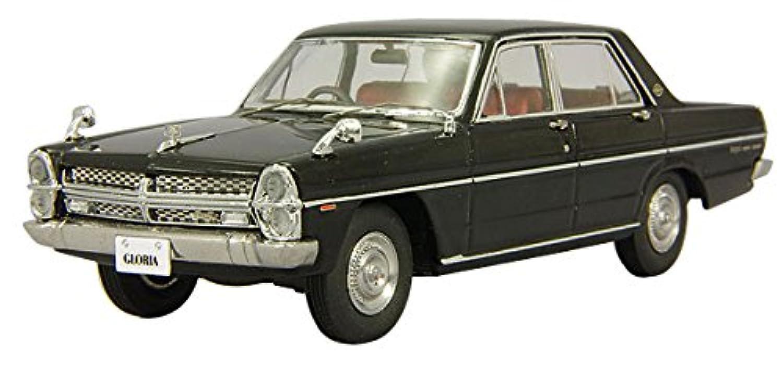 ENIF 1/43 日産 グロリア (PA30) スーパーDX 1968 ブラック 完成品