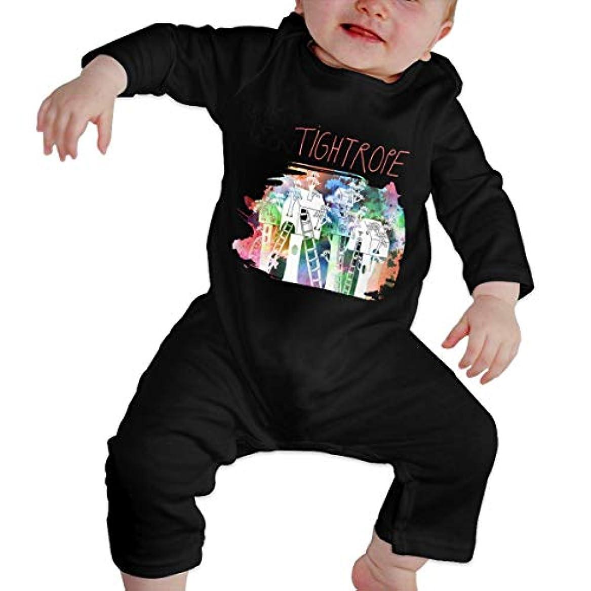 感嘆符ヶ月目デンマーク語Baby's、Kid's、Infant Utility、Cotton ジャンプスーツ、ロンパース、衣類、ボディスーツユニセックスベビークローラーブラック 12M