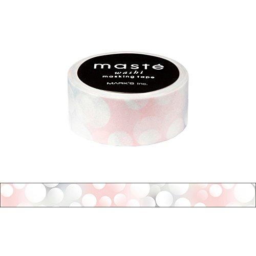 マークス マスキングテープ 「マステ」 バブル MST-MKT161-D