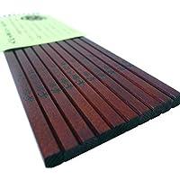 国産 木曽ひのき箸 5膳セット 木製漆塗り 軽くて丈夫でな木曽檜箸 「食洗機に強い」ホットプレート対応