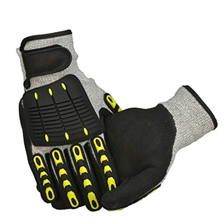噛む海峡ひも弓BAJIMI 手袋 グローブ レディース/メンズ ハンド ケア X-大、オリジナルオイル&ガスの安全性への影響手袋 裏起毛 おしゃれ 手触りが良い 運転 耐磨耗性 換気性