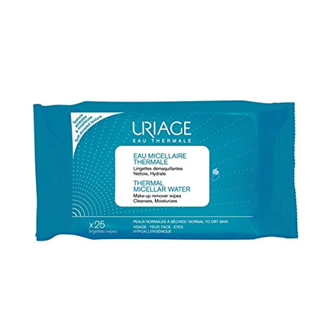 Uriage Thermal Micellar Water Make-up Remover Wipes X25 [並行輸入品]