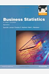 Business Statistics With Mymathlab Global Paperback