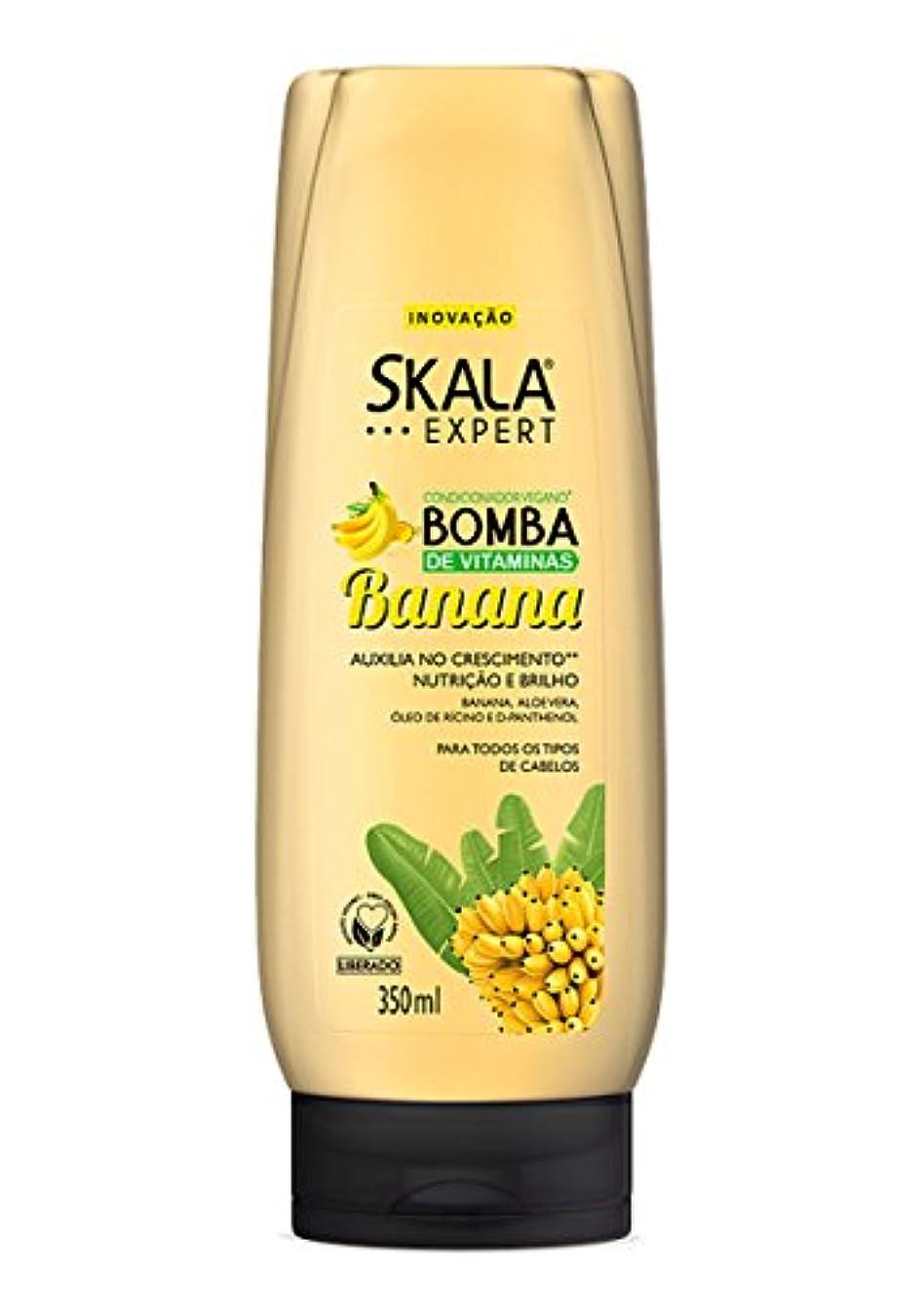 いらいらさせる中世の周術期Skala Expert スカラ バナナ ビタミン ボンブ コンディショナー:350ml