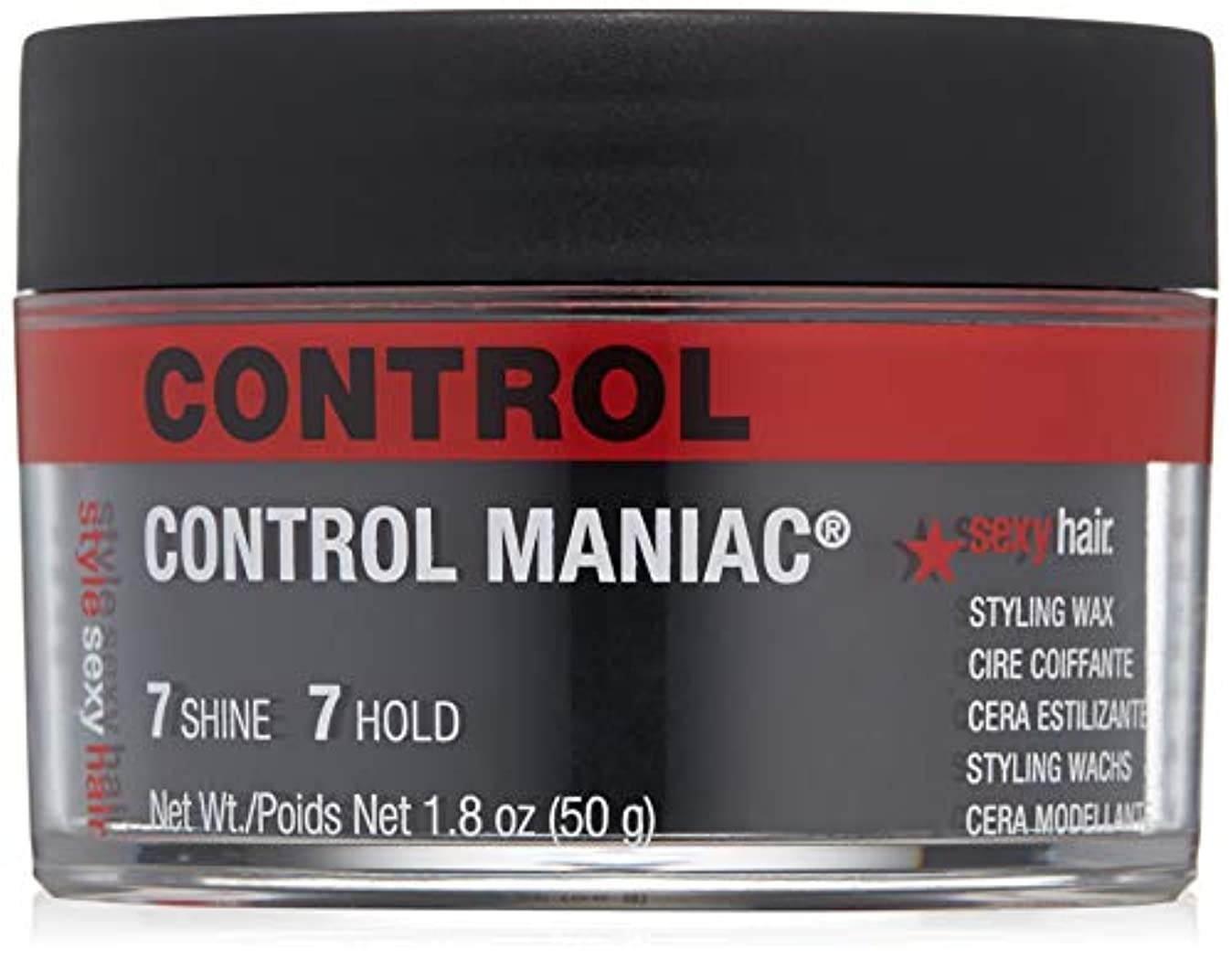 モンキー専門化する生まれセクシーヘアコンセプト - スタイル ワックス コントロール マニアック スタイリング ワックス - 50g/1.8oz