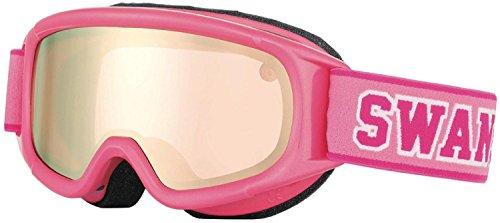 SWANS(スワンズ) ジュニア スキーゴーグル UVカット ピンク×ピンク JUMPIN-MDH