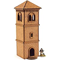 Belfry Watchtower Objective 28mm MDF Set by WWS - Warhammer 40K Table top Games