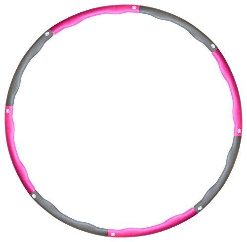 Shusoul(シュソール) フラフープ 直径95㎝ 8本組 ピンク