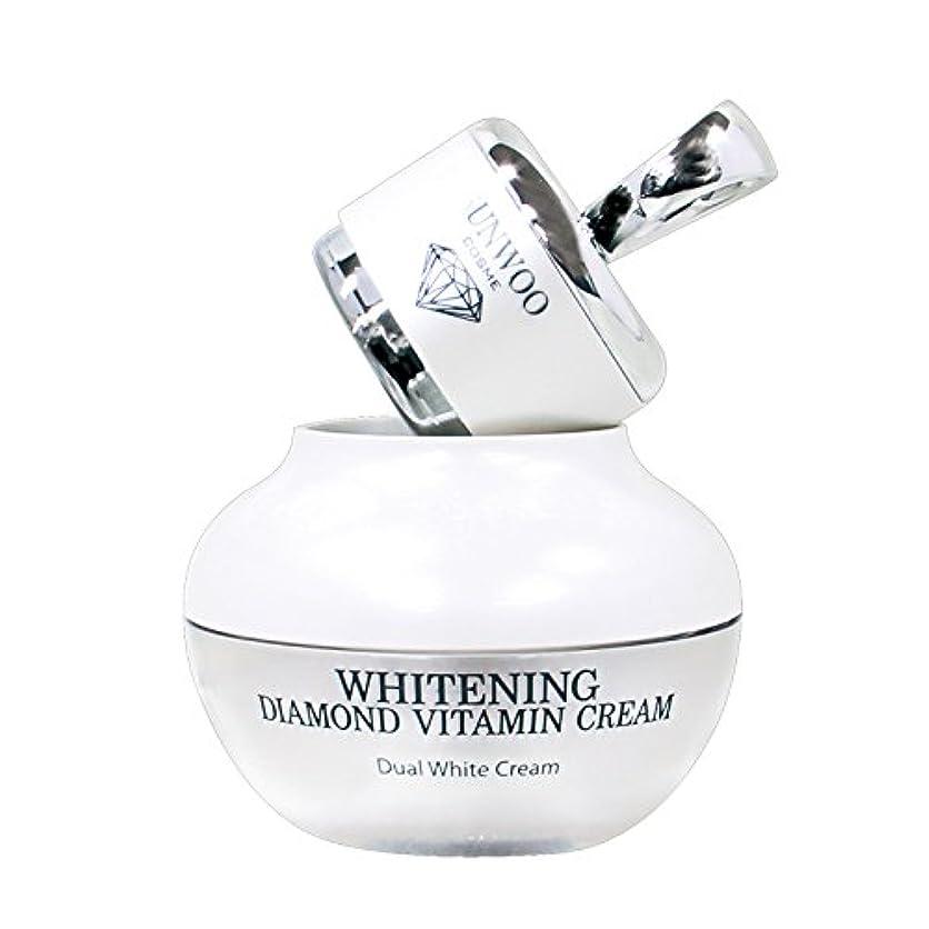 乱暴な手段床を掃除するWhitening Diamond Vitamin Cream
