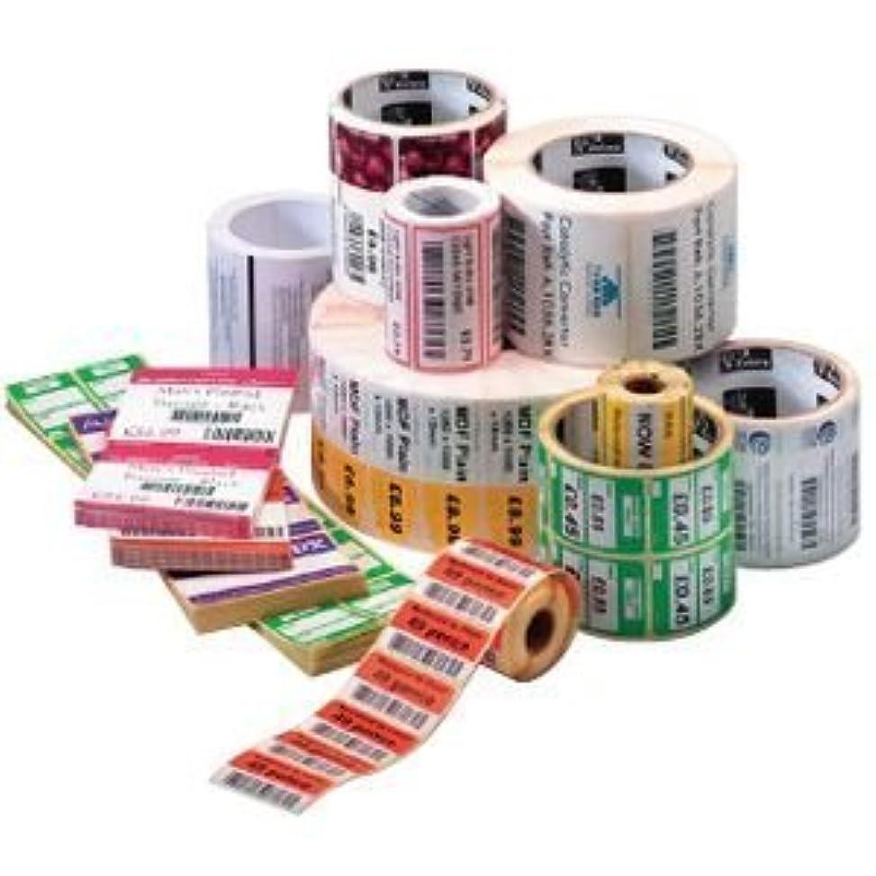 タンパク質くぼみ動物園Zebra Technologies 10005849 Z-Select 4000T Removable Paper Label Thermal Transfer Perforated 4 x 6 1 Core 5 OD 430 Labels per Roll (Pack of 6) [並行輸入品]