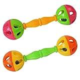 Amazon.co.jpSeliyi 赤ちゃんのガラガラ 赤ちゃんのおもちゃガラガラベル0から12ヶダンベル早期開発の振るおもちゃ