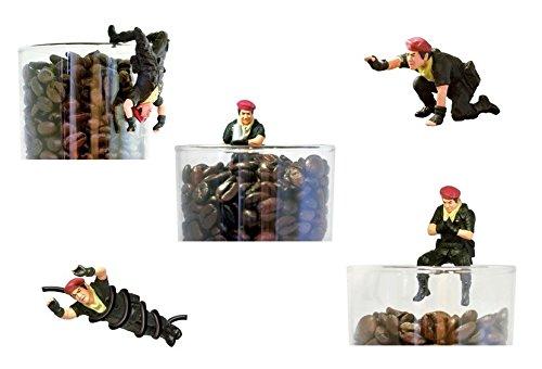藤岡弘、 コーヒーカップ探検隊 全5種
