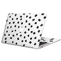 MacBook Pro 15 インチ (Late2016 ~ ) 専用スキンシール マックブック 15inch 15インチ Mac Book Pro マックブック プロ ノートブック ノートパソコン カバー ケース フィルム ステッカー アクセサリー 保護 ジャンル 四角 白黒 モノトーン 012711