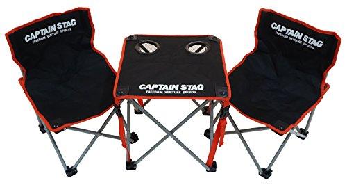 キャプテンスタッグ ジュールコンパクトテーブルチェアセット