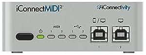 【正規輸入品】 iConnectivity iConnectMIDI2+ Lightning Edition マルチMIDIインターフェイス ICONNECTMIDI2L
