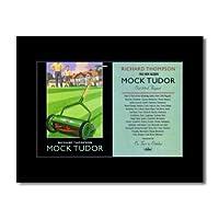 RICHARD THOMPSON - Mock Tudor Mini Poster - 21x13.5cm
