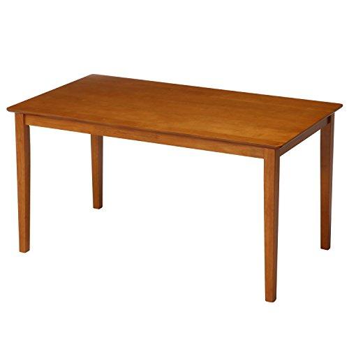 不二貿易(Fujiboeki) ダイニングテーブル 4人用 幅120cm ライトブラウン 天然木 簡単組立て スノア 96847 B01BN6AQ9O 1枚目