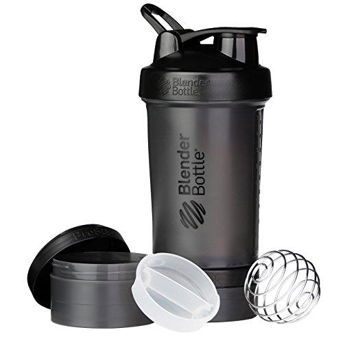 ブレンダーボトル 【日本正規品】 Blender Bottle ProStak 22オンス (650ml) Full-Color ブラック BBPSE22 FCBK
