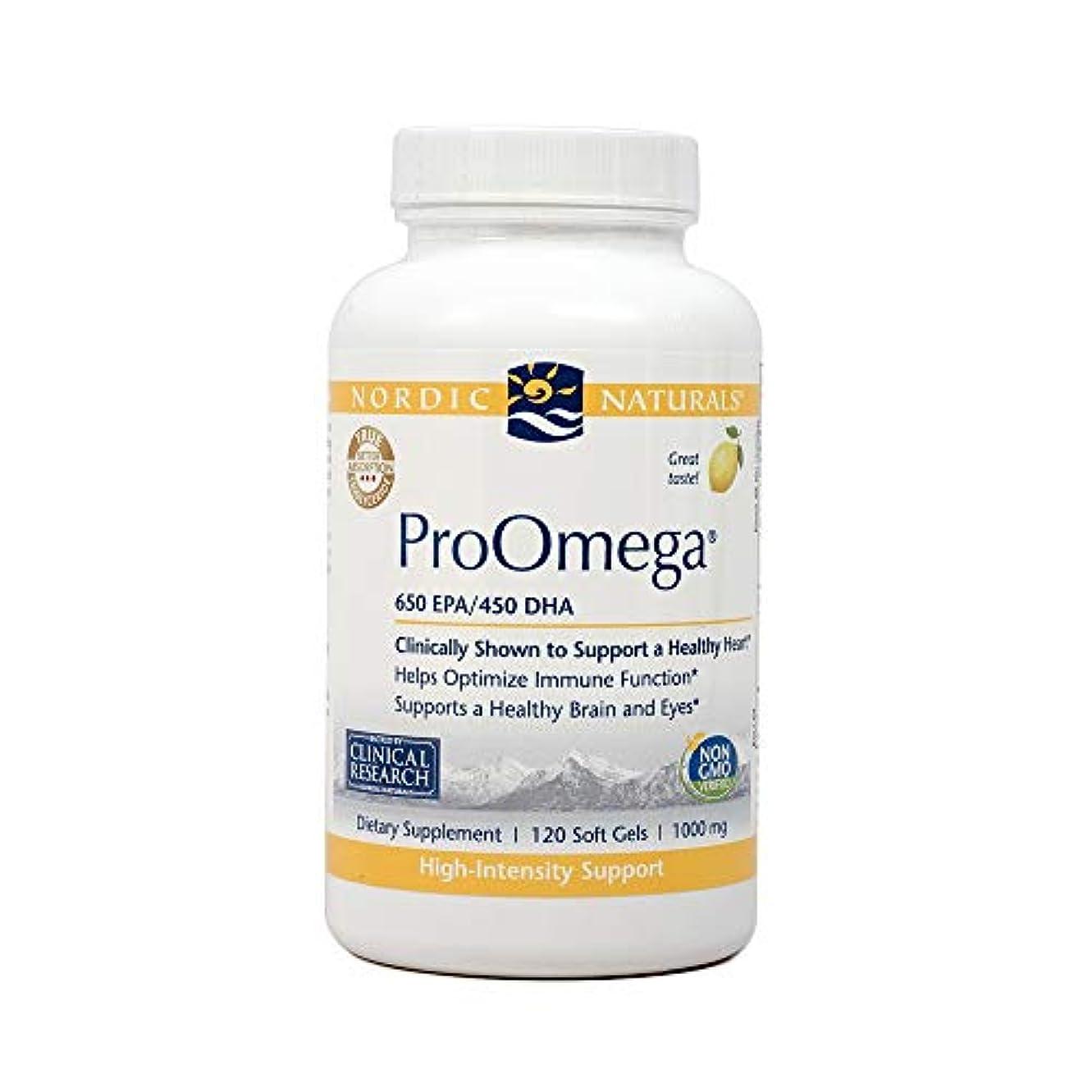 巨大偽善試みNordic Naturals ProOmega プロオメガ ソフトカプセル120粒 [海外直送品]
