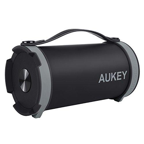 AUKEY bluetoothスピーカー ワイヤレスステレオスピーカー 内臓マイク SK-M18