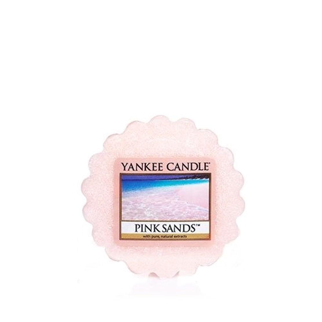 広告主印刷する人気の【YANKEE CANDLE/ヤンキーキャンドル】Tarts® Wax Melts タルト ワックスポプリ ワックスメルト Pink Sands ピンクサンド 0.8oz (22g)