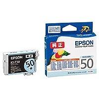 ==まとめ== ・エプソン・EPSON・インクカートリッジ・ライトシアン・ICLC50・1個・-×4セット-