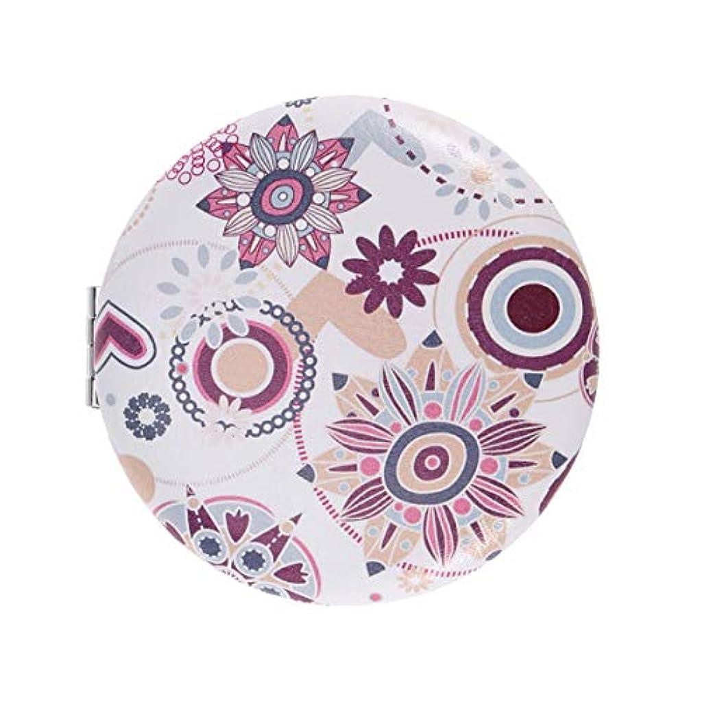 植物のサロンきゅうりFrcolor 化粧鏡 携帯ミラー 折りたたみミラー ポケットミラー 両面 コンパクトミラー 持ち運びに便利 おしゃれ