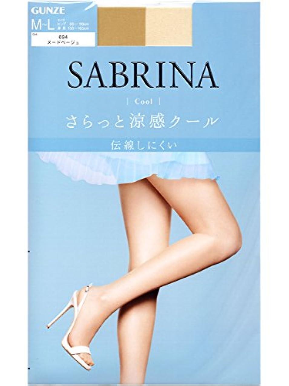 家事をする焼く証拠SABRINA(サブリナ) ストッキング クールSB470L ヌードベージュ L-LL