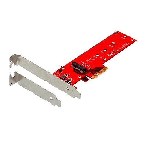 オウルテック M.2 スロット増設 PCI-Express x4接続 22110、2280、2260、2242対応 ロープロファイルブラケット付き 1年保証 OWL-PCEXM2-02