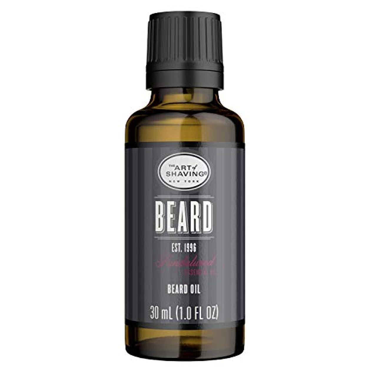 半ばわずらわしいジョットディボンドンアートオブシェービング Beard Oil - Sandalwood Essential Oil 30ml/1oz並行輸入品