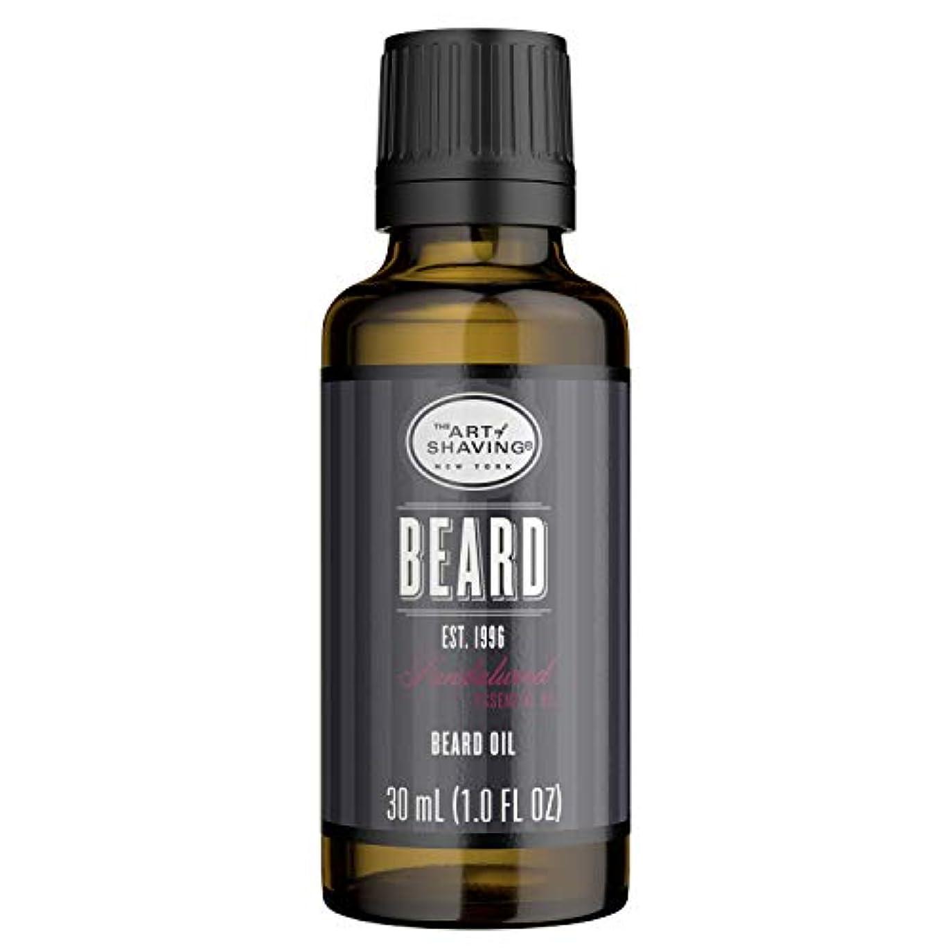 弓シャット心臓アートオブシェービング Beard Oil - Sandalwood Essential Oil 30ml/1oz並行輸入品