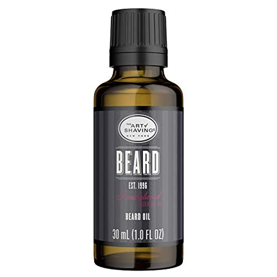 ママ欠乏第アートオブシェービング Beard Oil - Sandalwood Essential Oil 30ml/1oz並行輸入品