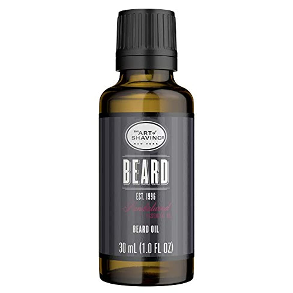 新しい意味委任する吹きさらしアートオブシェービング Beard Oil - Sandalwood Essential Oil 30ml/1oz並行輸入品