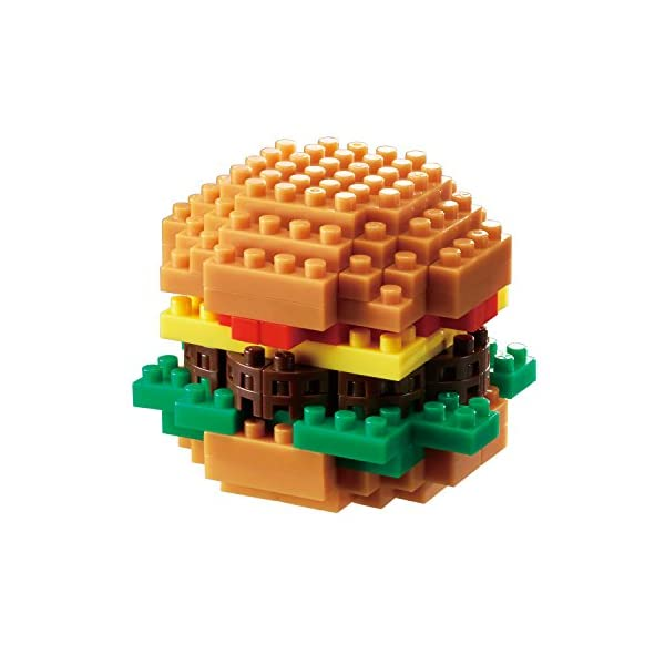 ナノブロック ハンバーガー NBC_217の商品画像