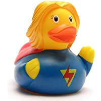 Rubber Duck Superwoman -  ゴム製のアヒル