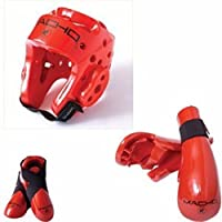 (child small, Red) - Macho Dyna 5 piece sparring gear set