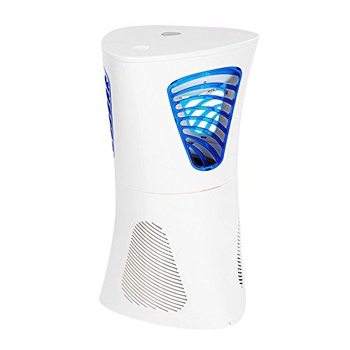 Fochea 吸引式捕虫器 光触媒技術 蚊取り器 LED UV光源 蚊を吸い込む! 静音 省エネ 環境に優しい 蚊対策 屋内用