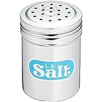 遠藤商事 業務用 調味缶 小 (アクリル蓋付) S缶 (しお) 18-8ステンレス?ポリプロピレン 日本製 BTY02002